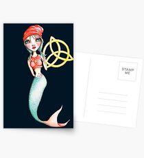 Meara the Irish Mermaid Postcards