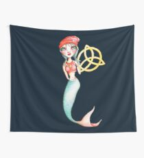 Meara the Irish Mermaid Wall Tapestry