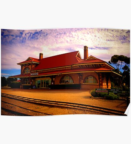 Moonta Railway Station Poster