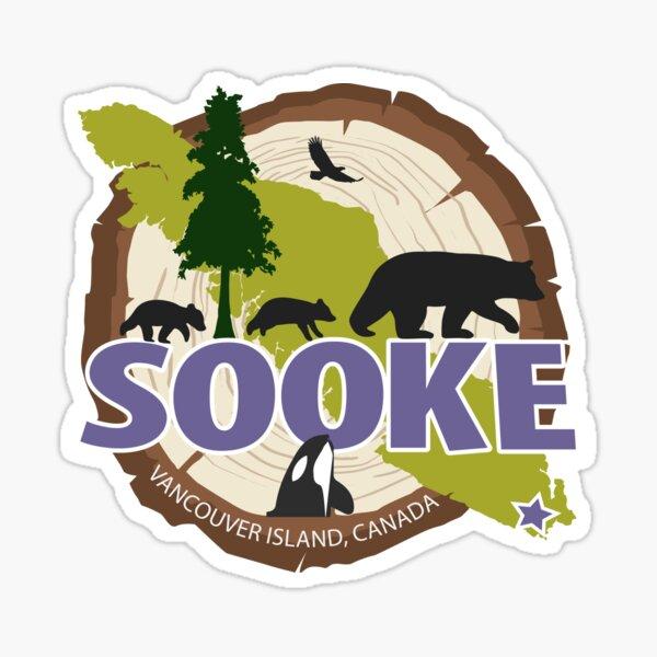 Sooke Mama Bear Sticker