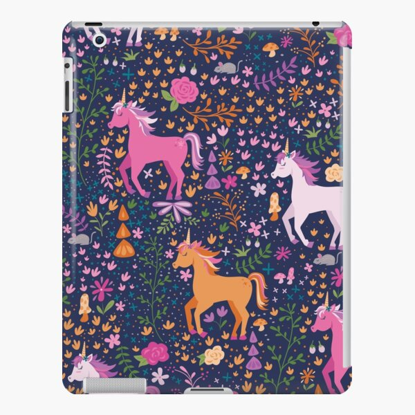 Unicorns in the Flower Garden iPad Snap Case