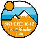 Ski the K-12 Patch by MountBrodie