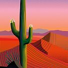 Saguaro Blossoms by Charles Harker
