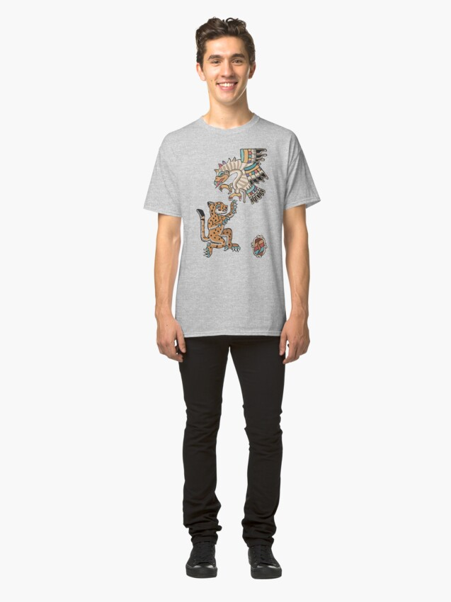 Alternate view of Ocelot and Eagle Classic T-Shirt