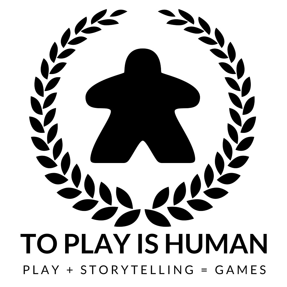 To Play Is Human (black & white) by toplayishuman