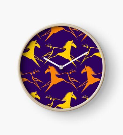 War Horse Clock
