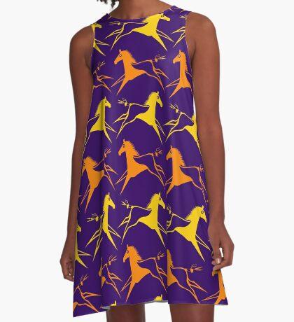 War Horse A-Line Dress
