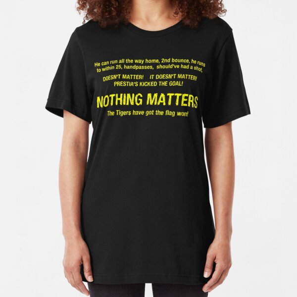 3AW Nothing Matters - Richmond 2017 Black Slim Fit T-Shirt
