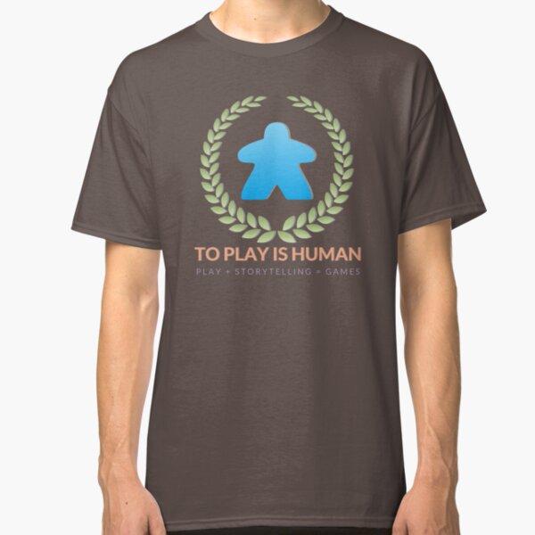 To Play Is Human (full logo, title, tagline) Classic T-Shirt