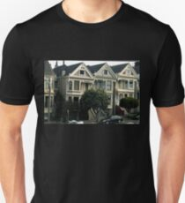 And Painted Ladies All In A Row.. Slim Fit T-Shirt