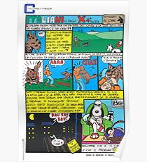 COMIX for MAGAZINE 4 Poster