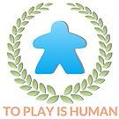 To Play Is Human (Icon TItle) by toplayishuman