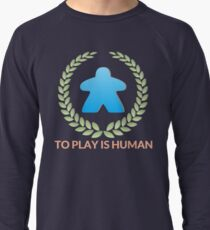 To Play Is Human (Icon TItle) Lightweight Sweatshirt