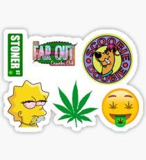 Stoner Sticker Pack Sticker