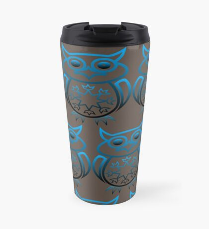 Owl's (Blue) Travel Mug