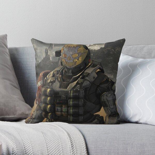 Halo Reach Emile Throw Pillow