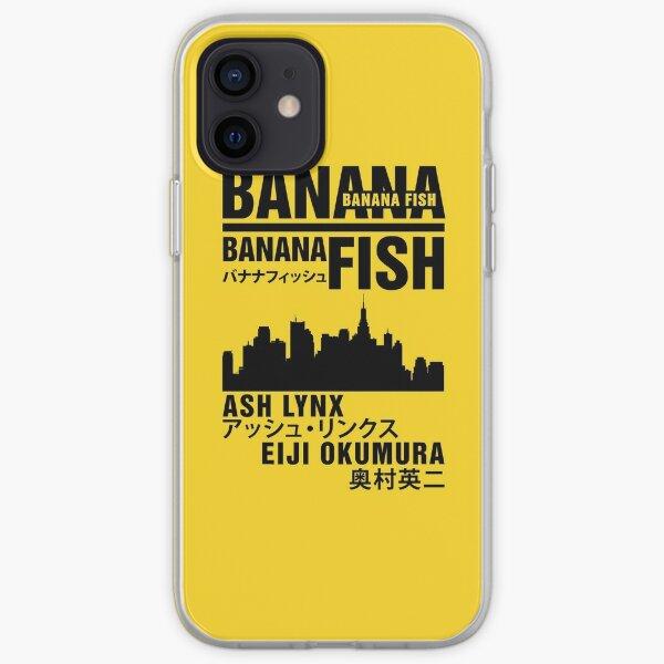 Poisson banane Coque souple iPhone