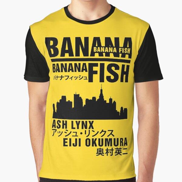 Pescado de plátano Camiseta gráfica