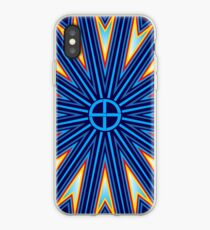 Fire Spirit Blue iPhone Case