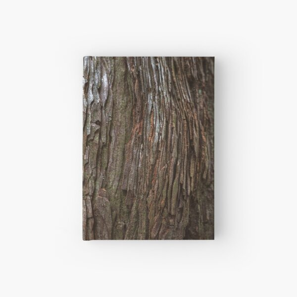 Redwood Bark Hardcover Journal