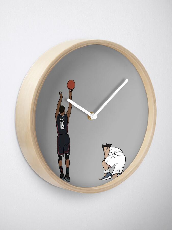 Alternate view of Kemba Walker UCONN Game Winner Clock