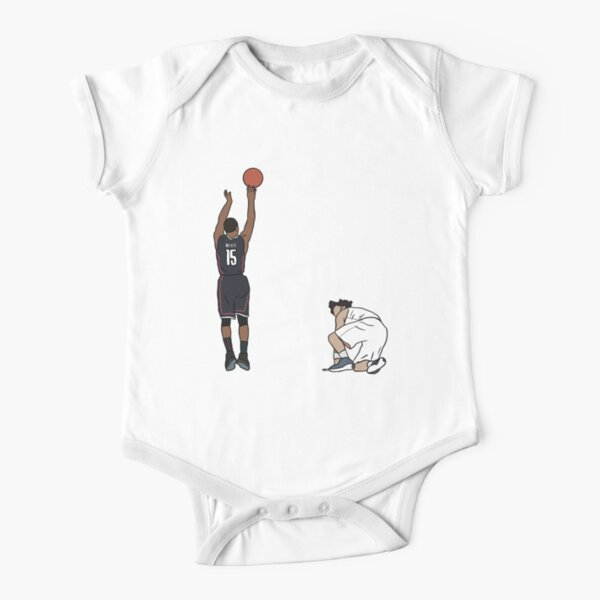 Kemba Walker UCONN Game Winner Short Sleeve Baby One-Piece