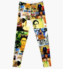 Legging Frida Kahlo Collage Pop Art