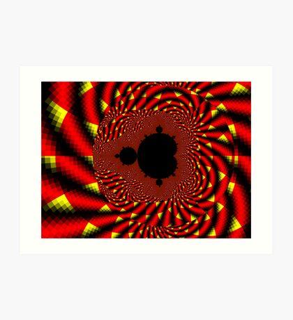 Mandelbrot - Fire Art Print