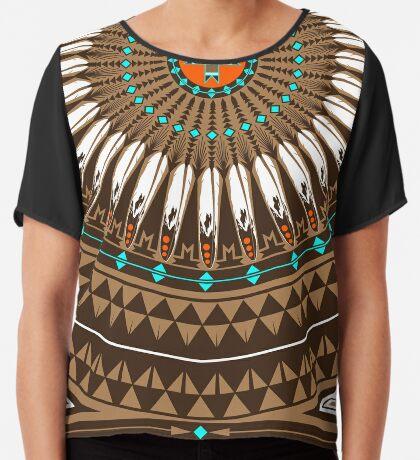 Pow Wow (Wacipi) Women's Chiffon Top