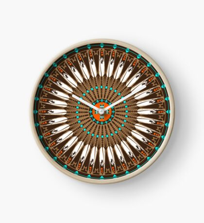 Pow Wow (Wacipi) Clock