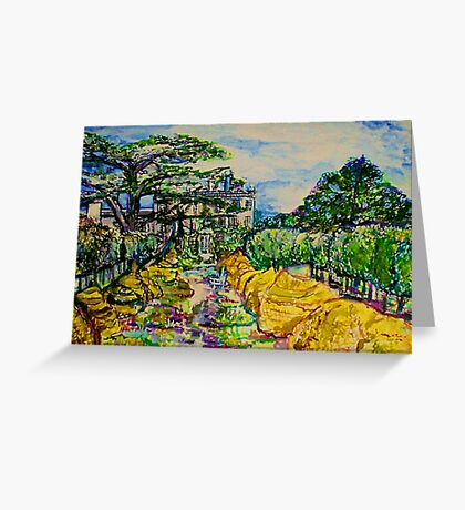 Prince Charles Gardens Greeting Card