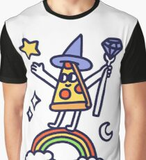 Wizard Pizza Graphic T-Shirt