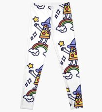 Wizard Pizza Leggings