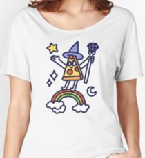 Wizard Pizza Relaxed Fit T-Shirt