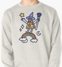 Wizard Pizza Pullover Sweatshirt