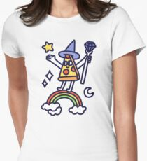 Wizard Pizza Fitted T-Shirt