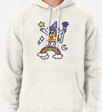 Wizard Pizza Pullover Hoodie