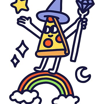Wizard Pizza by obinsun