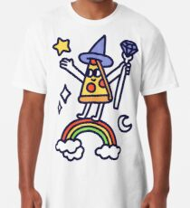 Wizard Pizza Long T-Shirt