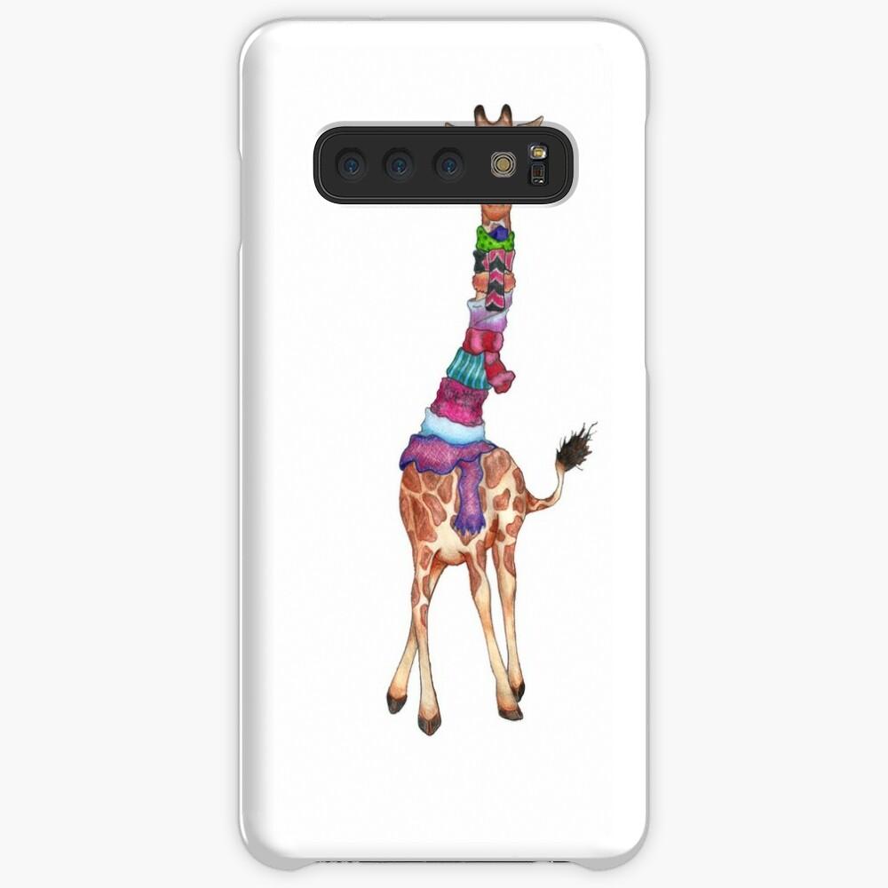 Cold Outside - Cute Giraffe Illustration Case & Skin for Samsung Galaxy