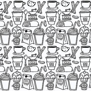 Monochrome Series - Coffee Break by nadiairianto