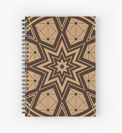 Vintage Native American Gathering Spiral Notebook