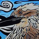 kookaburra by Debby Haskard-Strauss