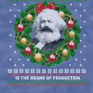 Karl Marx Ugly Christmas Sweater - Ergreifen Sie die Produktionsmittel von FlorenceFlo