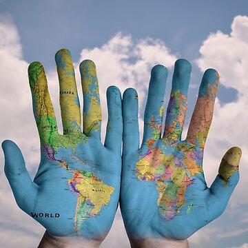 Earth Hands by professorjaytee