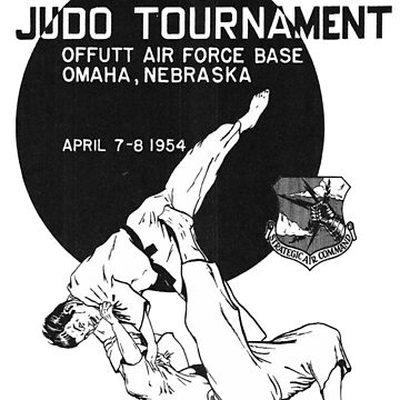 Judo Tournament Vintage  by Deadscan
