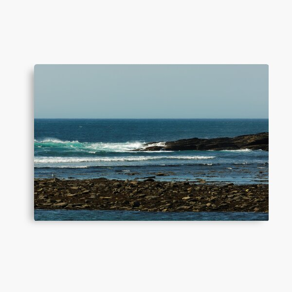 BLUE SEA COAST Canvas Print