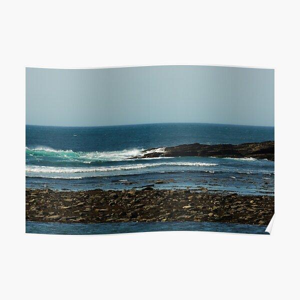 BLUE SEA COAST Poster