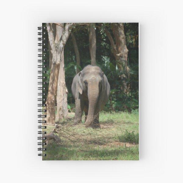 Indian Elephant Spiral Notebook
