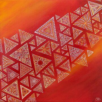 triangular red geometric action by artetbe
